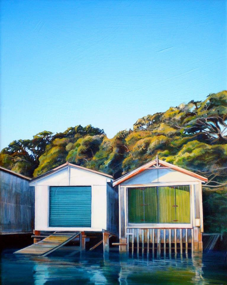 Auckland Orakei Boatsheds, New Zealand