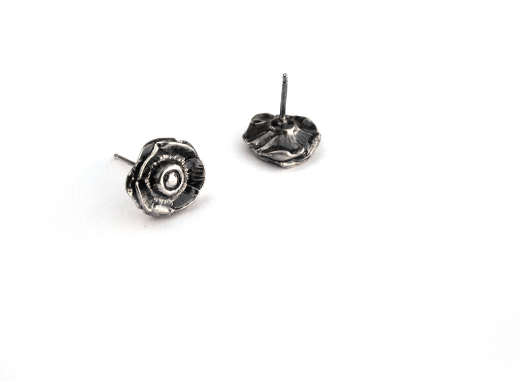 Anemone Blossom Stud Earrings