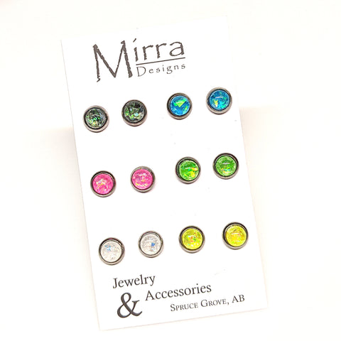 6 Pack | Everyday Value | 6mm Stud Earrings