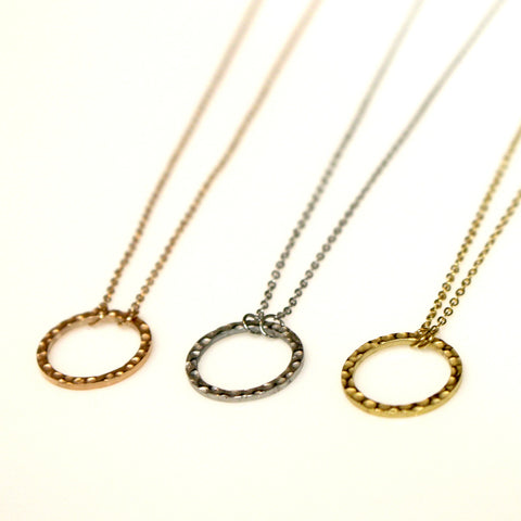Circle Necklace | 16"