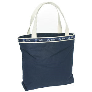 Canvas Tote Bag - Navy/White