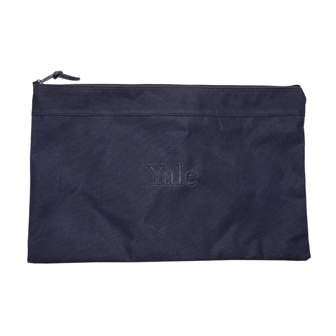 Waxed Canvas Portfolio - Navy