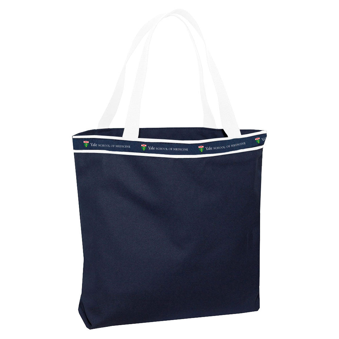 Canvas Tote Bag - Navy/White - School of Medicine