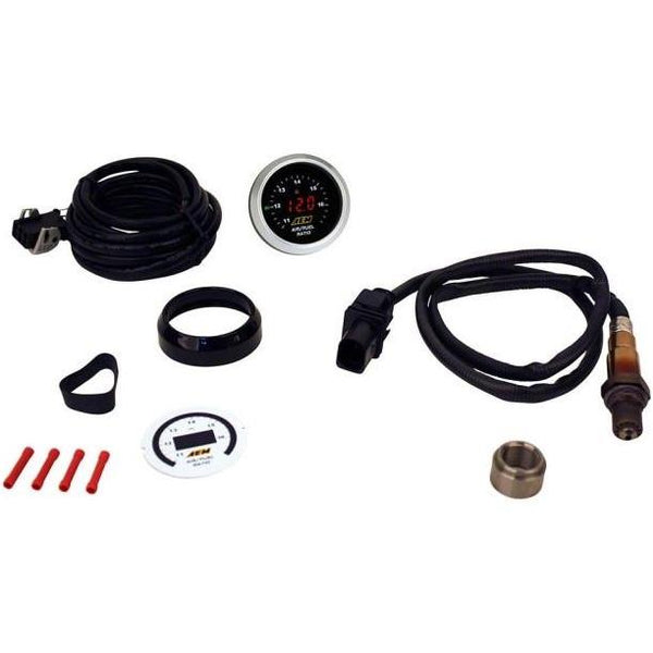 AEM 30-4110 - Digital Wideband UEGO Air / Fuel Ratio Gauge - Dark Road Performance - AEM