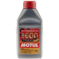 Motul RBF 600 Factory Line Racing Fully Synthetic DOT 4 Brake Fluid | RBF600 - 500ml - Dark Road Performance - MOTUL