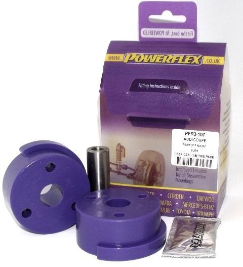 Powerflex Audi 80, 90 Quattro inc Avant (1983-1992) S2 Coupe B3 (1991-1996) Rear Differential Mount PFR3-107