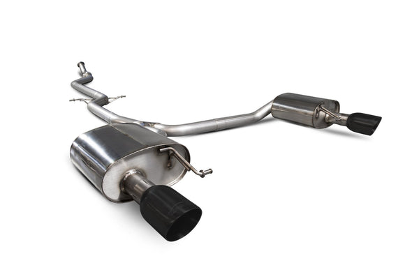 Audi A5 B8 2.0 TFSI Non-resonated cat-back system  SAUS072C Scorpion Exhaust