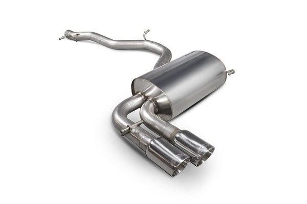 Audi S3 8P Non-resonated cat-back system SAUS074 Scorpion Exhaust