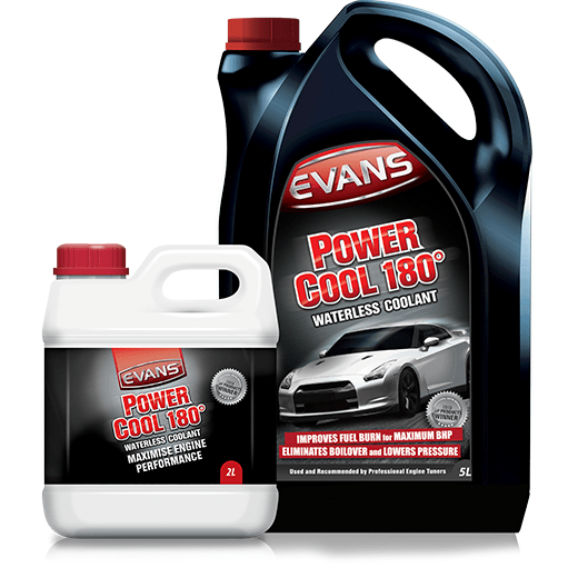 Evans Power Cool 180 Waterless Coolant - Dark Road Performance - Evans