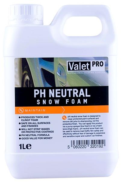 ValetPro pH Neutral Snow Foam 1L,  Car Cleaning and Maintanance, Valet Pro,  Dark Road Performance, [product_tags] - Dark Road Performance Ltd