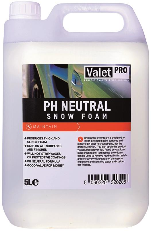 ValetPro pH Neutral Snow Foam 5L - Dark Road Performance - Valet Pro