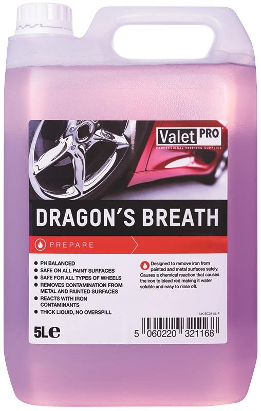 ValetPro Dragon's Breath pH Neutral Wheel Cleaner 5L,  Car Cleaning and Maintanance, Valet Pro,  Dark Road Performance, [product_tags] - Dark Road Performance Ltd