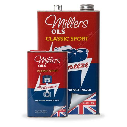MILLERS OILS CLASSIC SPORT HIGH PERFORMANCE 20w50 - 1L,  Engine Oil, MILLERS,  Dark Road Performance, [product_tags] - Dark Road Performance Ltd