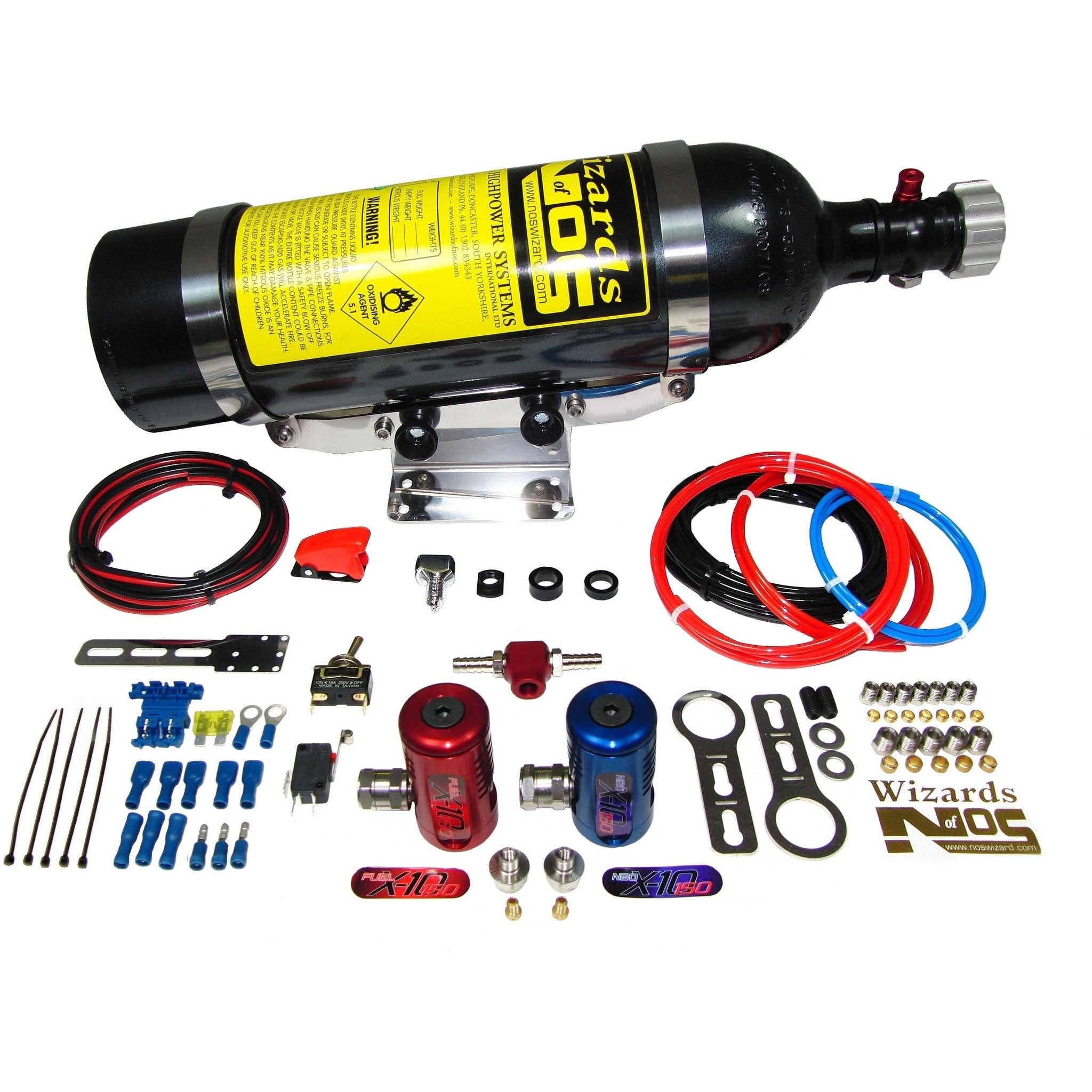 SB150i Nitrous Kit Suitable for most injected engines with a single throttle body,  NITROUS OXIDE,  WIZARDS OF NOS,  Dark Road Performance - Dark Road Performance Ltd