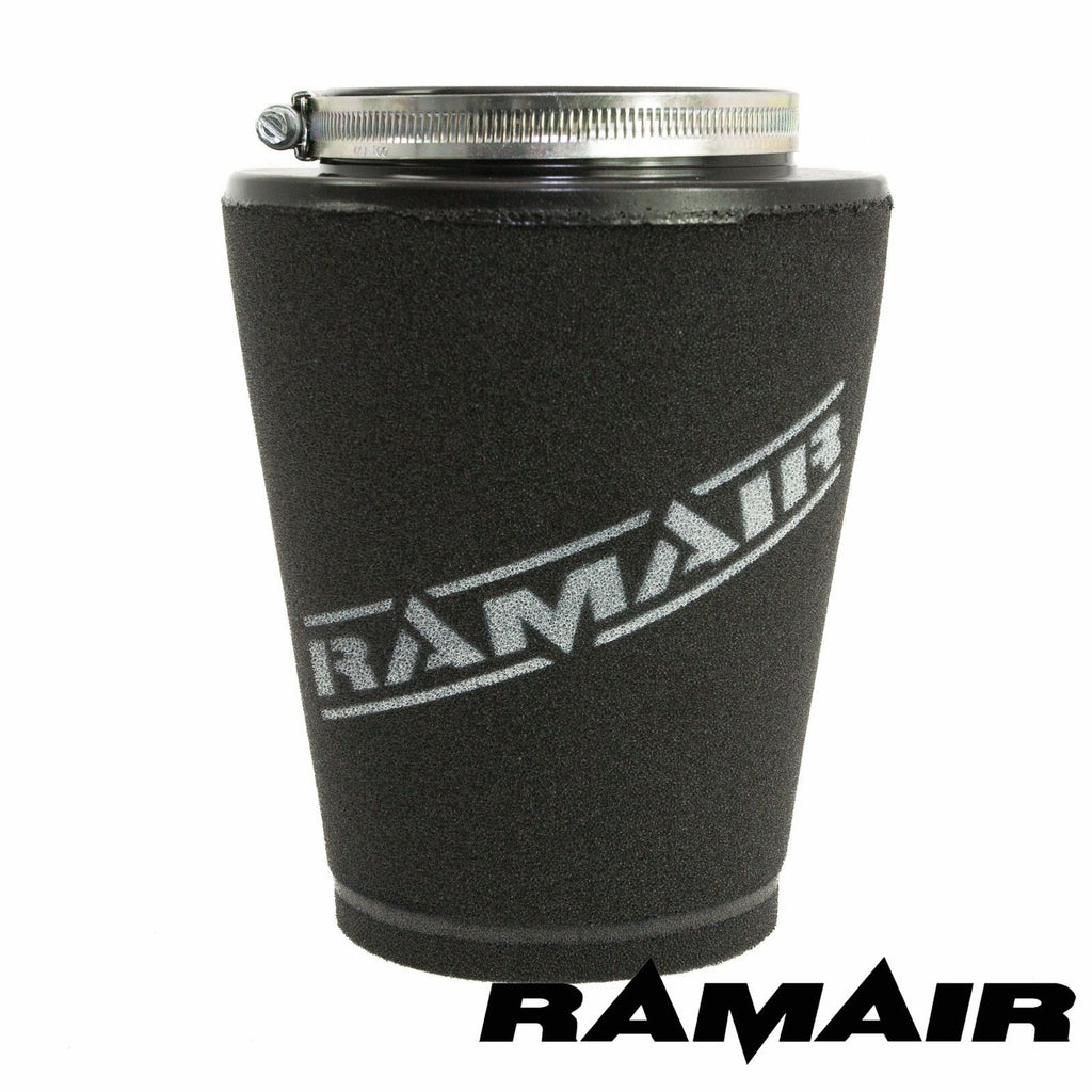 Ramair 100mm ID Neck - Polymer Base Neck Cone Air Filter,  Air Filter, RAMAIR,  Dark Road Performance, [product_tags] - Dark Road Performance Ltd