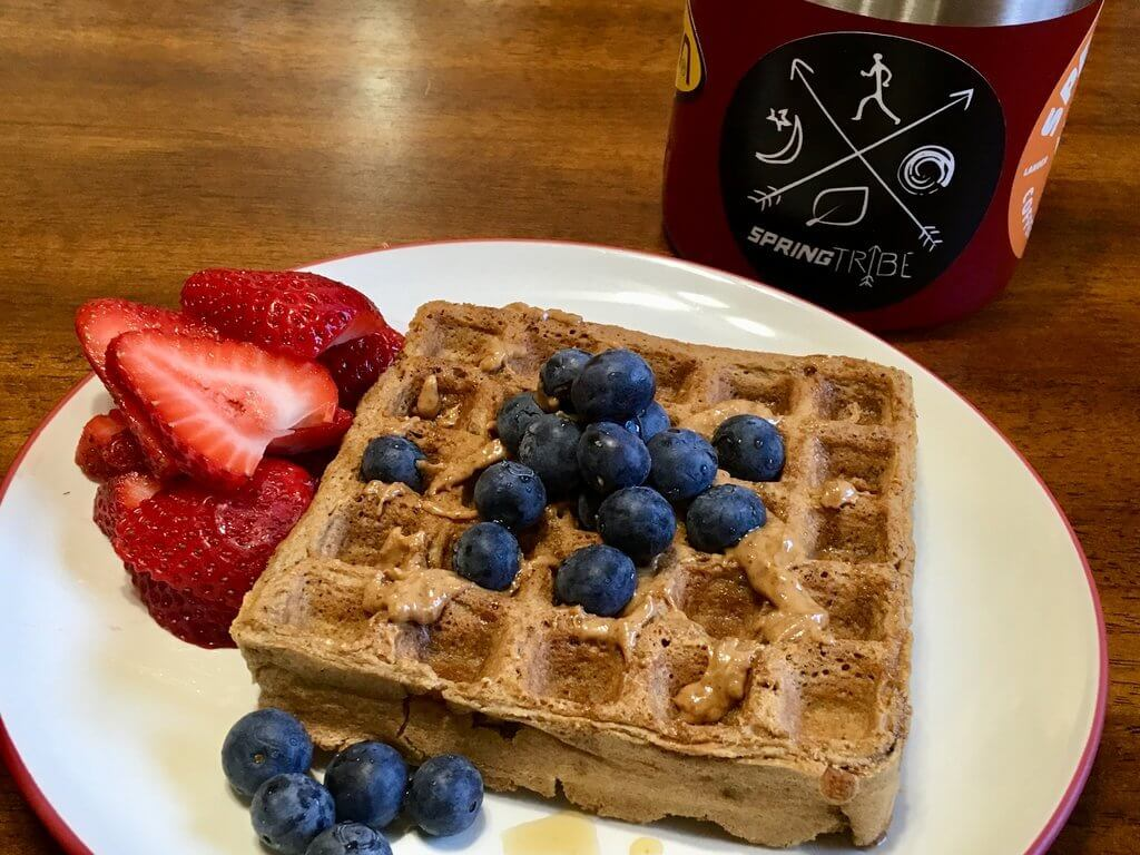 Mountain GOAT Waffles (Gluten Free, Oat, Almond, Teff… or Greatest of All Time)