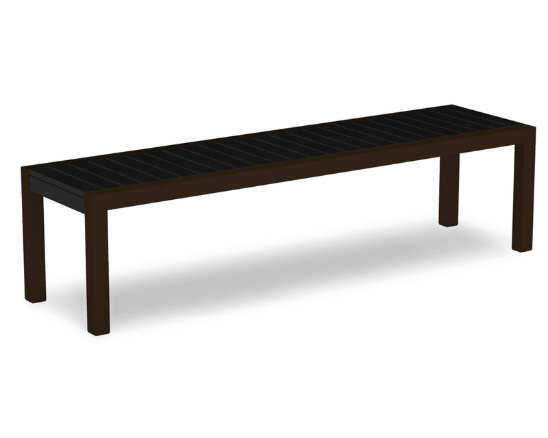 3800-16BL MOD Bench in Textured Bronze & Black