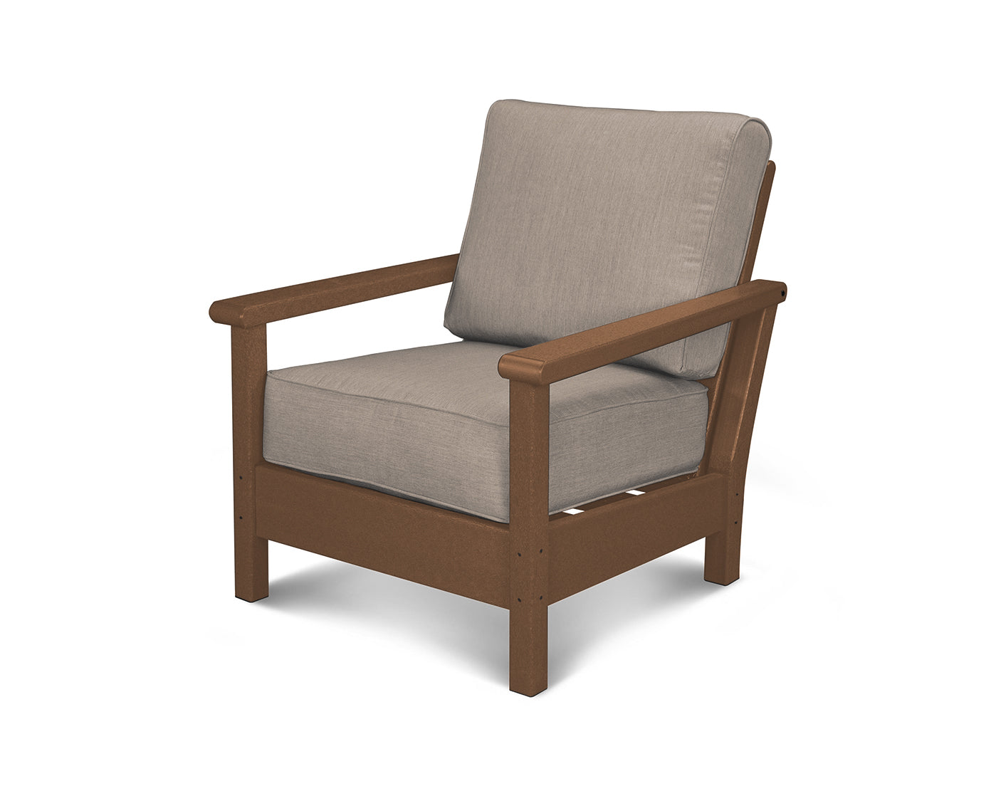 Polywood Harbour Deep Seating Chair 4011 Pure Patio