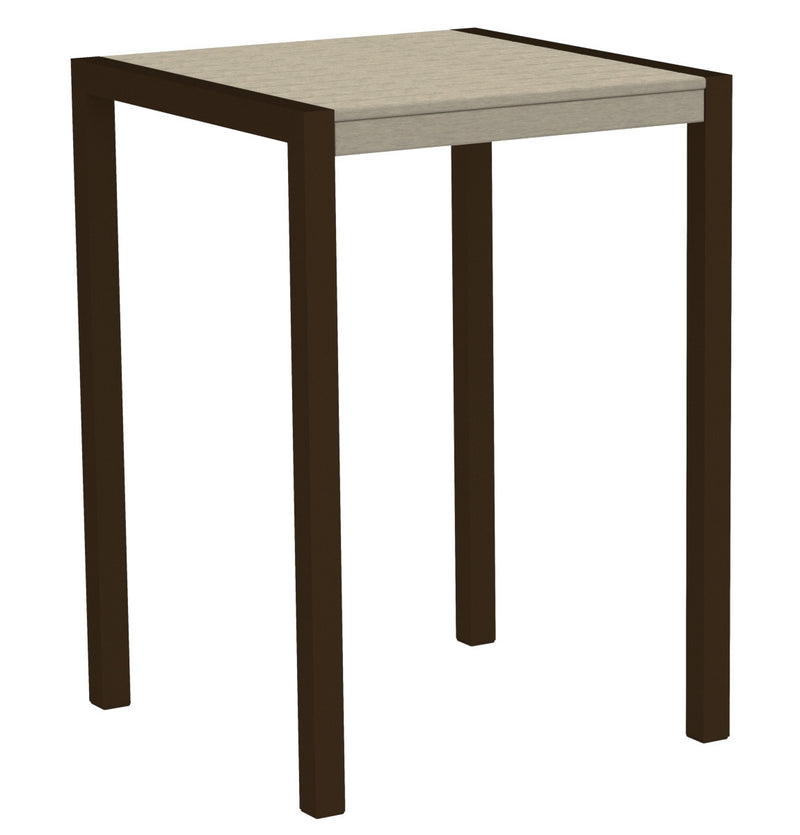 "8002-16SA MOD 30"" Bar Table in Textured Bronze & Sand"