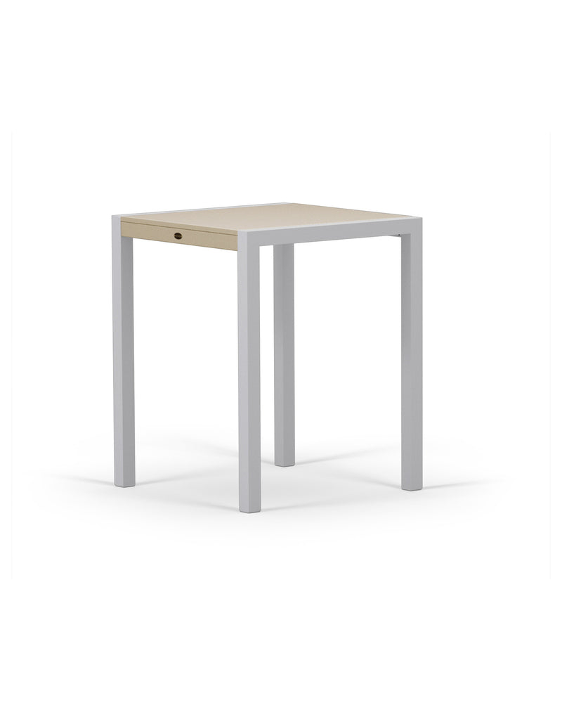 "8021-11MSA MOD SOLID 30"" Counter Table in Textured Silver & Sand"