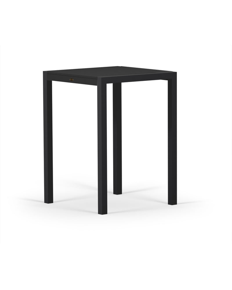 8022-12MBL MOD SOLID 30in Bar Table in Textured Black & Black