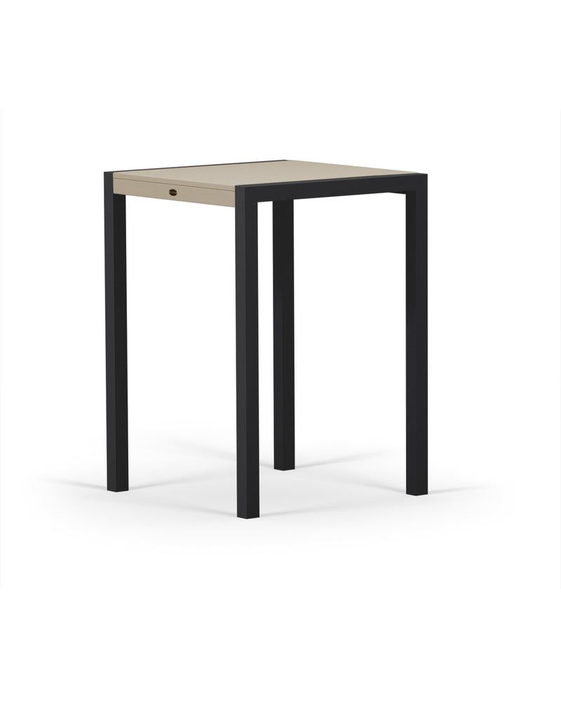 8022-12MSA MOD SOLID 30in Bar Table in Textured Black & Sand