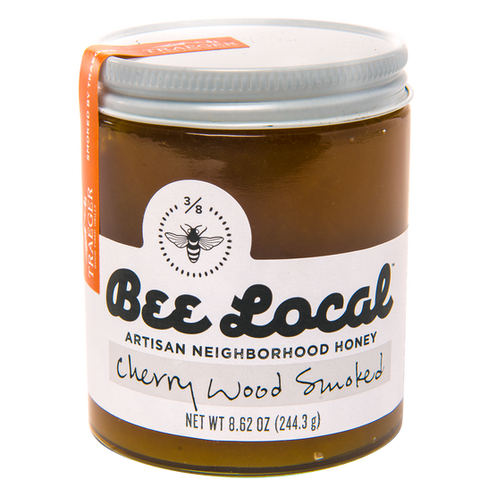 Bee Local Cherry Wood Smoked Honey 8.62 oz