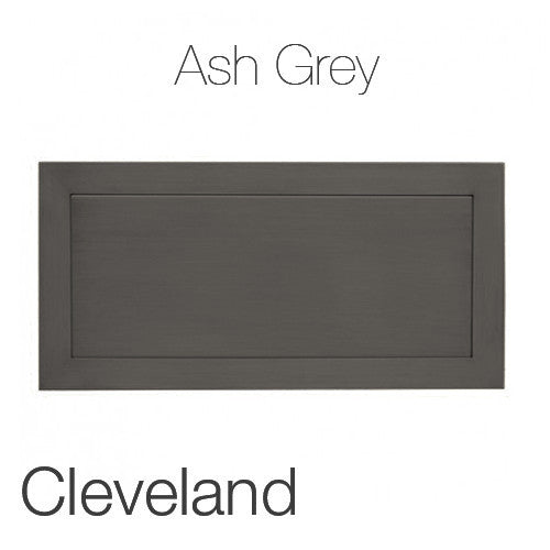 "Cleveland Coffee Table in Ash Grey 23""x47"" Rectangular Top ASG"