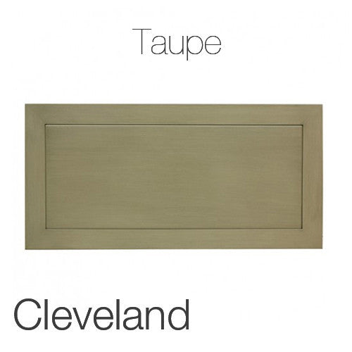 "Cleveland Coffee Table in Taupe 23""x47"" Rectangular Top TAU"