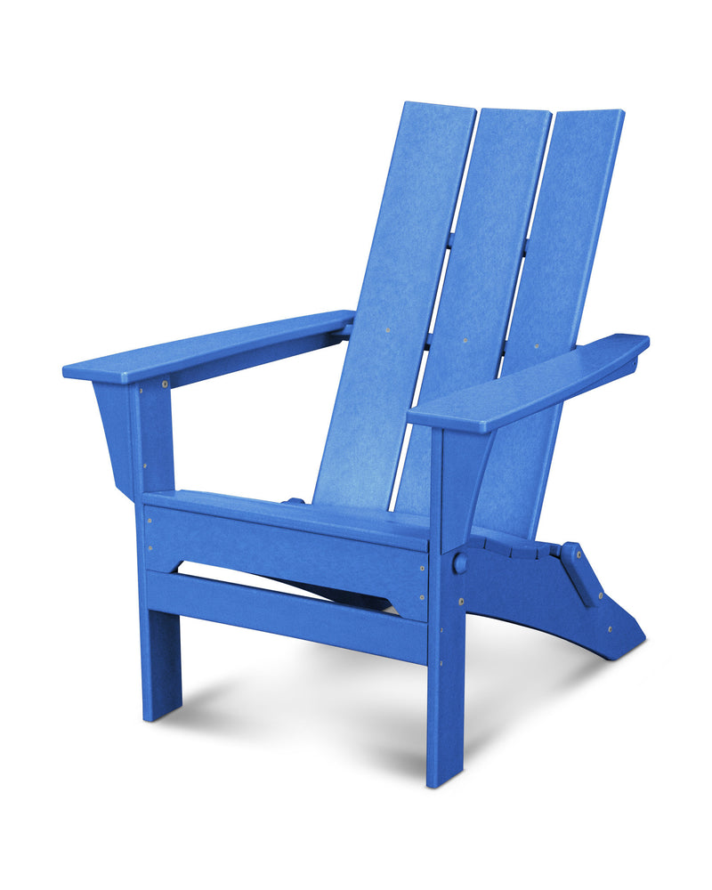 MNA110PB - Modern Trio Adirondack in Pacific Blue