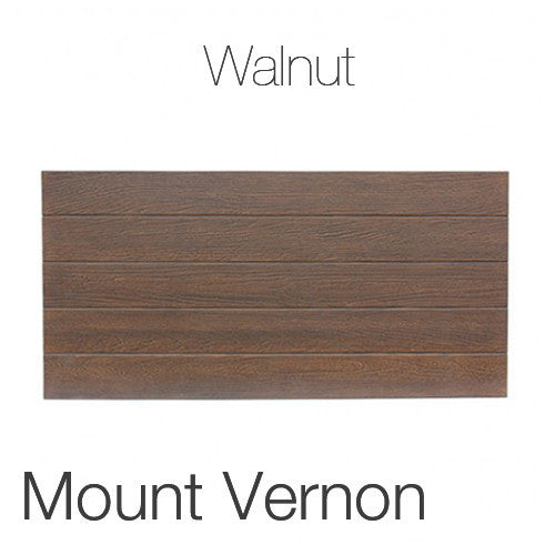 "Mount Vernon Coffee Table in Walnut 23""x47"" Rectangular Top WAL"