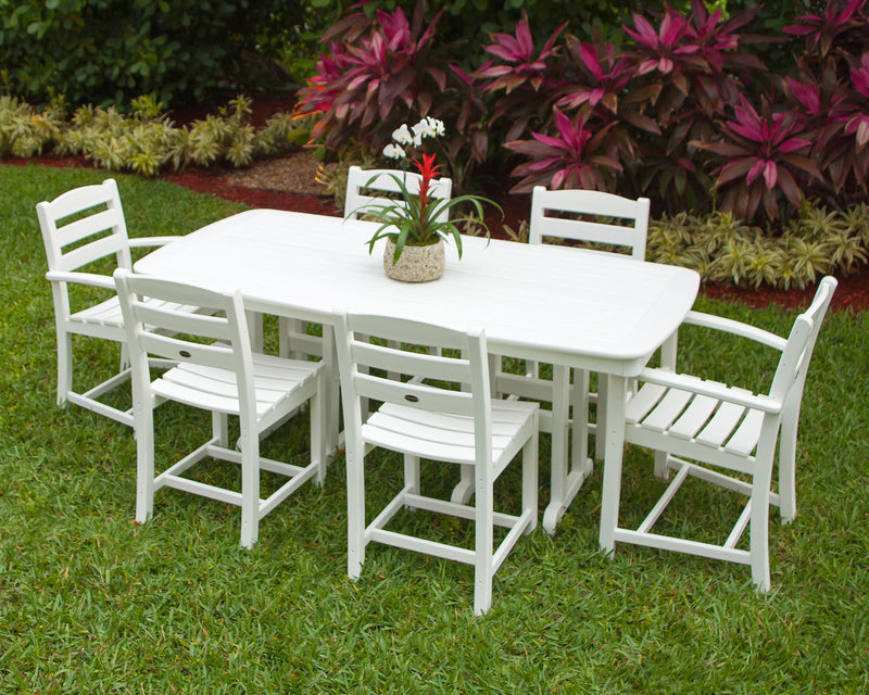 Polywood La Casa Cafe 7 Piece Dining set