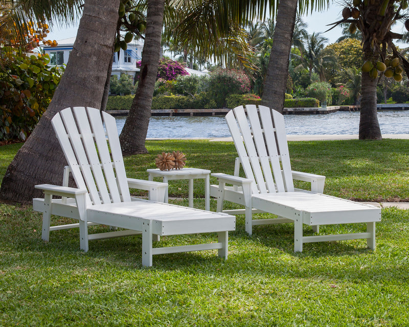 South Beach Chaise 3 Piece Set