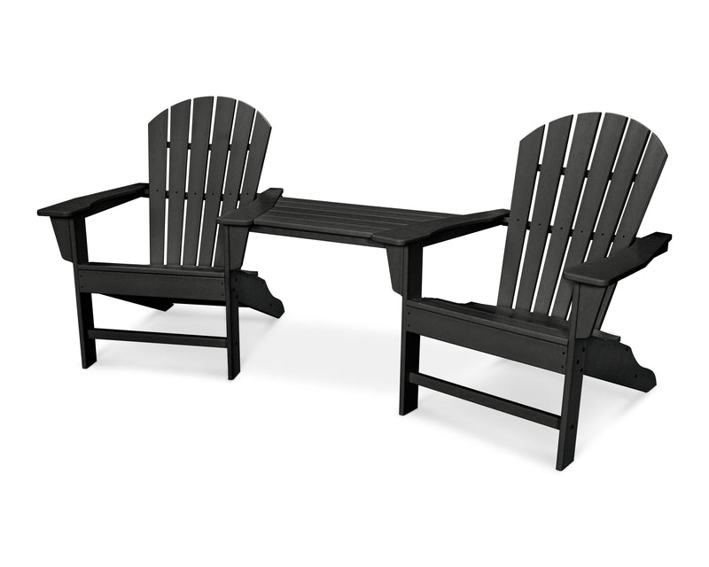 South Beach Adirondack Tete-A-Tete Set