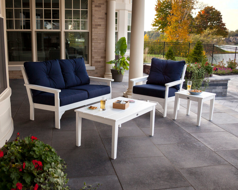 Polywood Vineyard 4 Piece Deep Seating Set