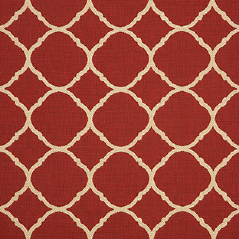 Ratana All Weather Fabric Grade D FO7051 Accord II Crimson Sunbrella Dyed Acrylic Random
