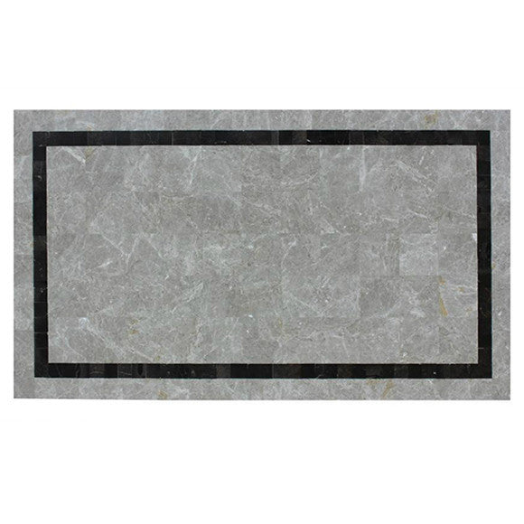 "Ratana Catania/Vino 71"" x 39"" Faux Stone Table Top in Pattern B"