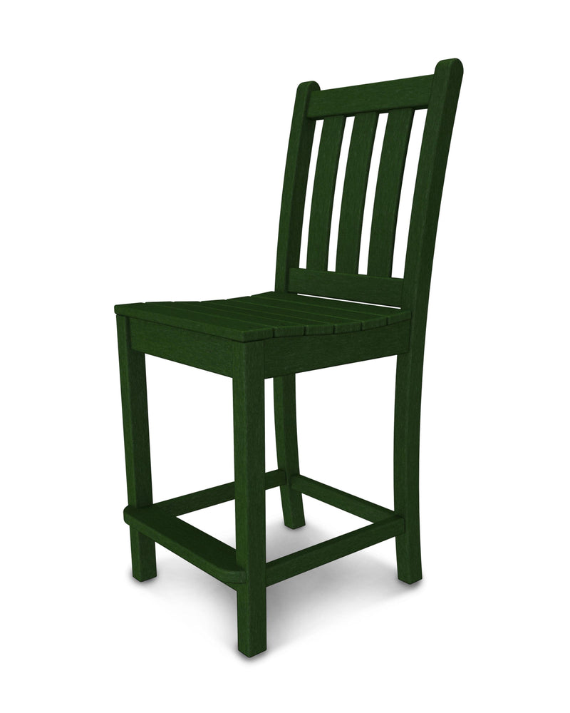 Traditional Garden Counter Side Chair