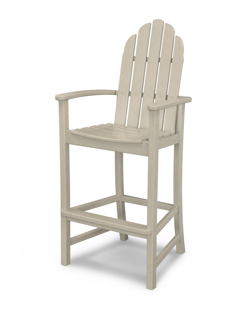 ADD202SA Classic Adirondack Bar Chair in Sand