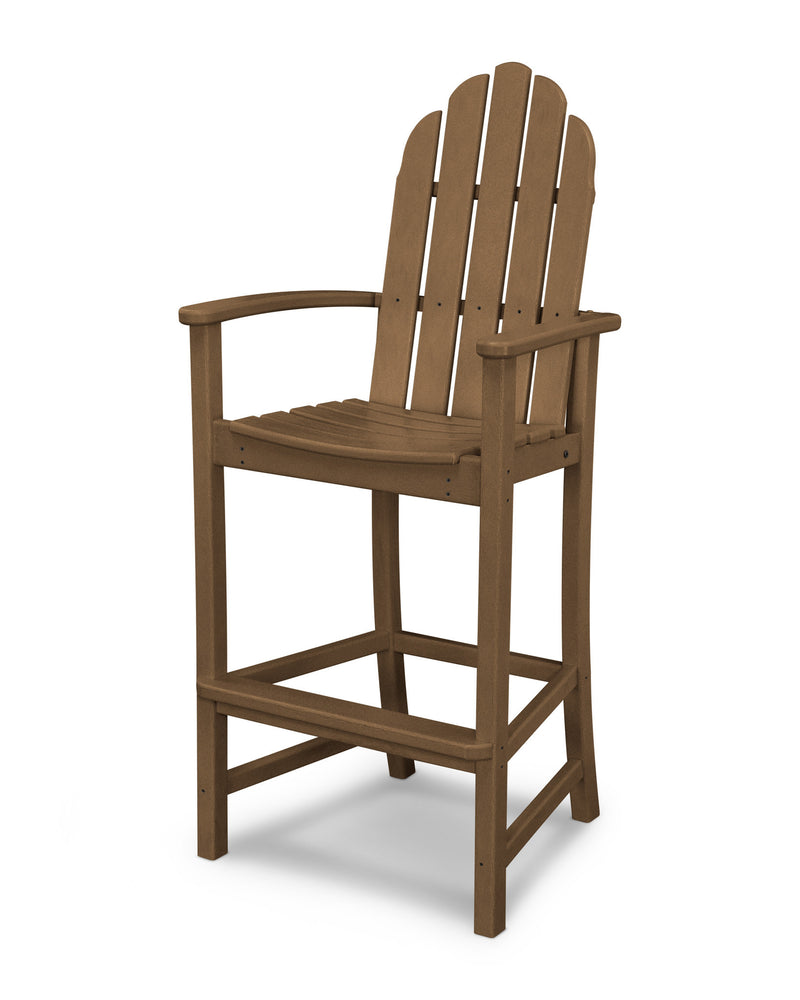 ADD202TE Classic Adirondack Bar Chair in Teak