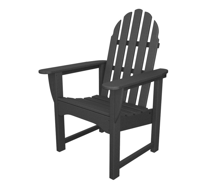 ADDC-1GY Classic Adirondack Casual Chair in Slate Grey