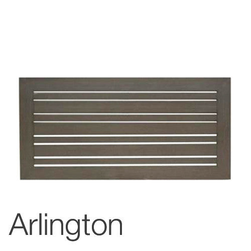 "Arlington 23"" x 47"" rectangular top"