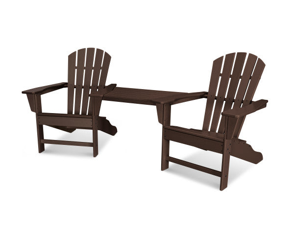 Palm Coast Adirondack Tete-A-Tete Set