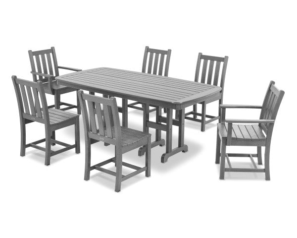 Traditional Garden 7 Piece Dining Set