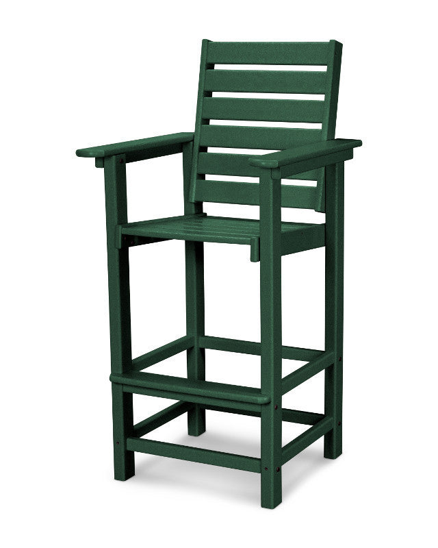 CCB30GR Captain Bar Chair in Green