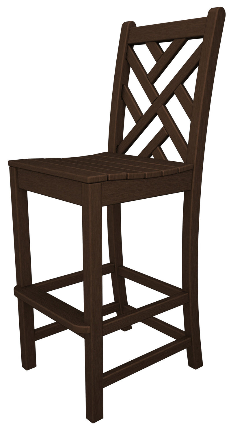 CDD102MA Chippendale Bar Side Chair in Mahogany