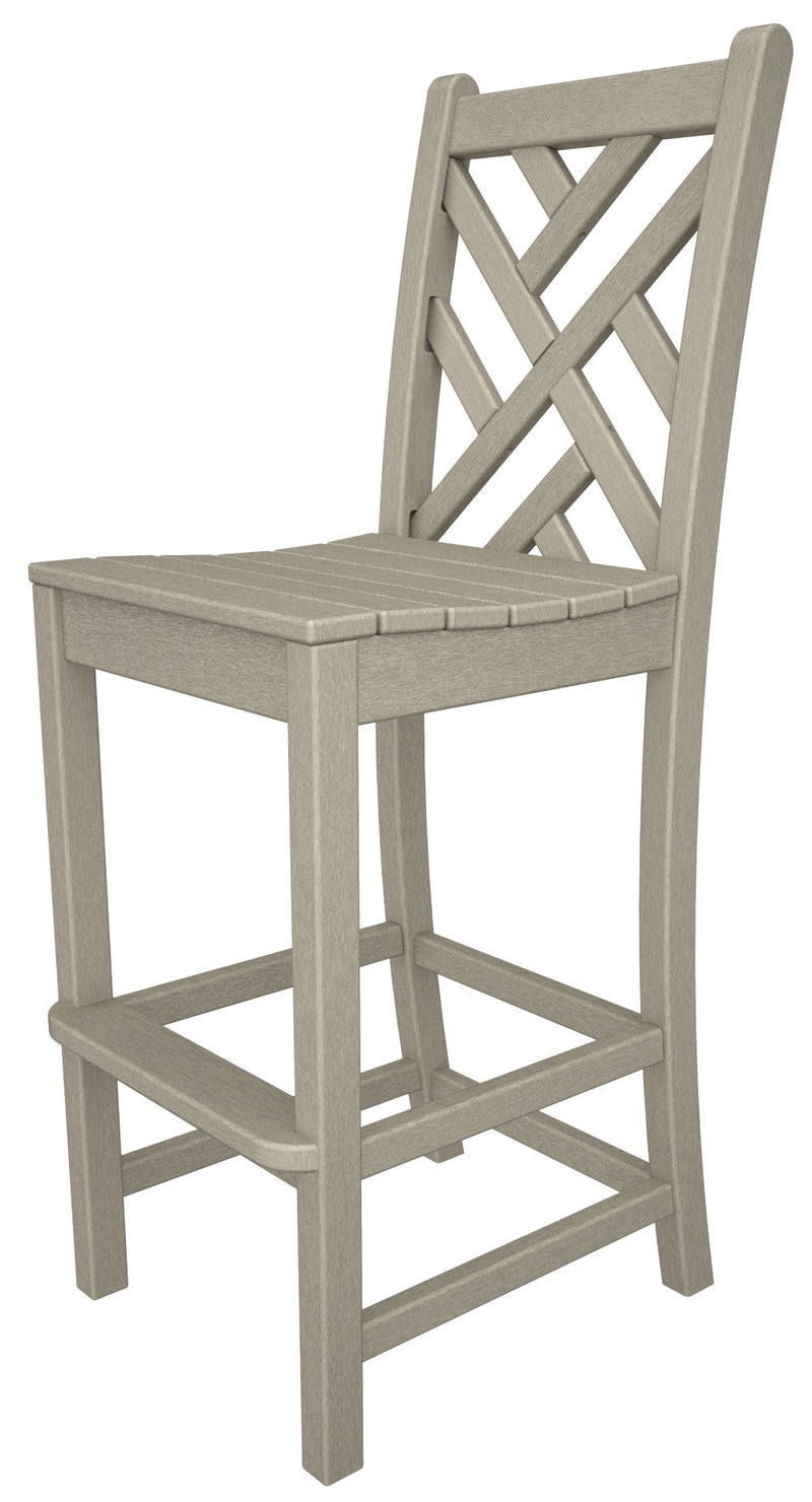 CDD102SA Chippendale Bar Side Chair in Sand