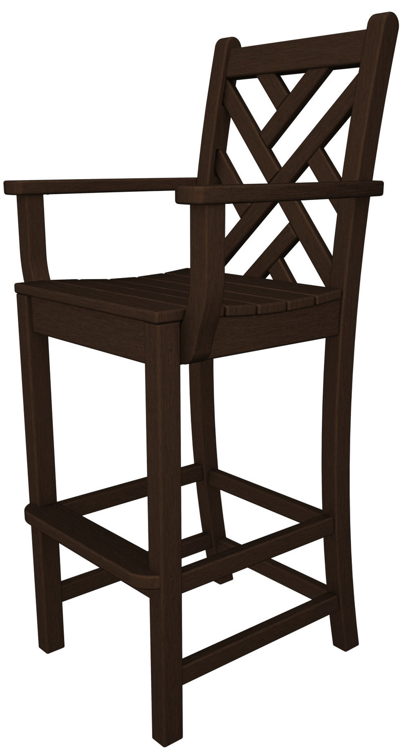 CDD202MA Chippendale Bar Arm Chair in Mahogany