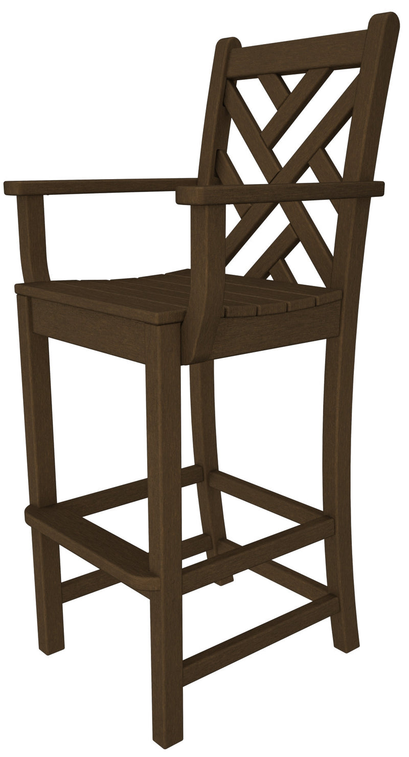 CDD202TE Chippendale Bar Arm Chair in Teak