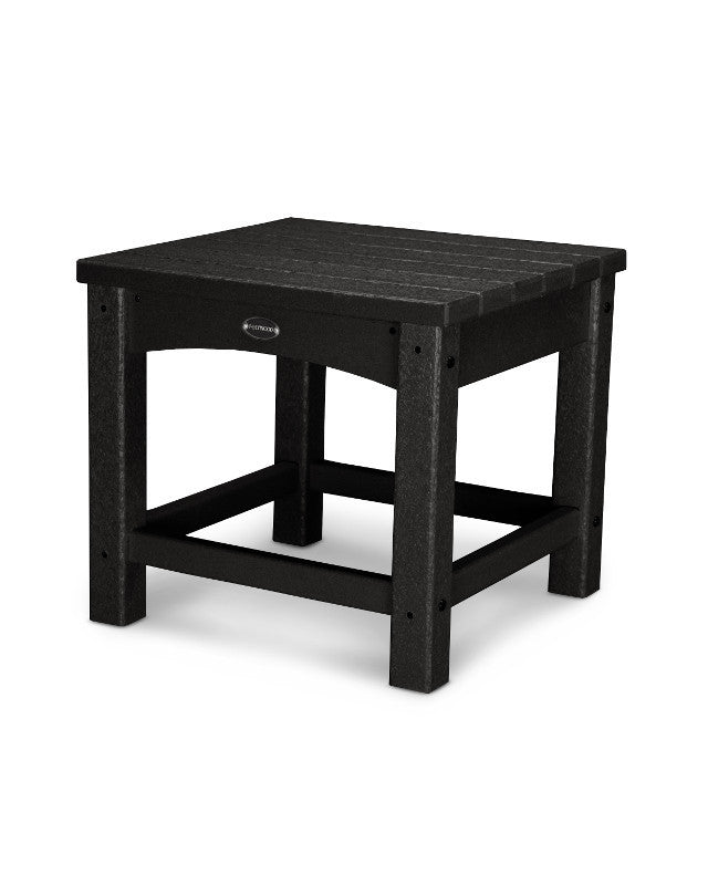 "CLT1818BL Club 18"" Side Table in Black"